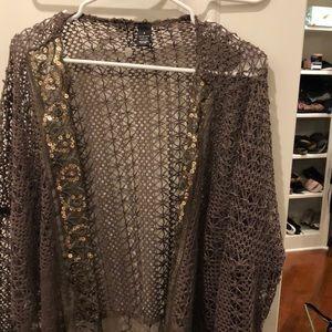 Small to medium festive cardigan
